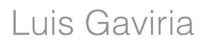 LUIS GAVIRIA Logo